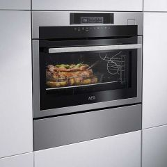 AEG KSE782220M Built-In Compact Oven With Steam