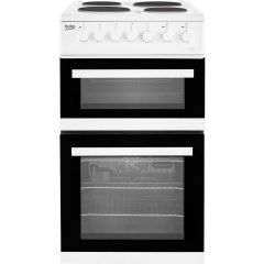 Beko EDP503W 50 Cm Double Oven Electric 4 Zone Sealed Plate