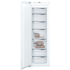Bosch GIN81AEF0G 177x54 built in NoFrost freezer, DayLight, 7 compartments, 5 freezer drawers, 2 fla