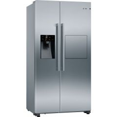 Bosch KAG93AIEPG 179x91 SBS, plumbed for ice and water, HomeBar, NoFrost, MultiAirflow, SuperCool, S