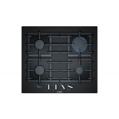 Bosch PPP6A6B90 60Cm, 4 Burners, Flameselect, Cast Iron Supports, Tempered Glass