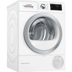 Bosch WTWH7660GB Condenser Tumble Dryer With Heat Pump, 9Kg Load