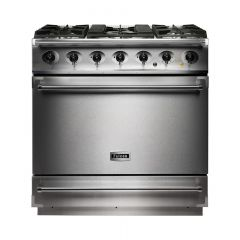 Falcon F900SDF 90Cm Dual Fuel Single Oven Falcon Deluxe Range Cooker
