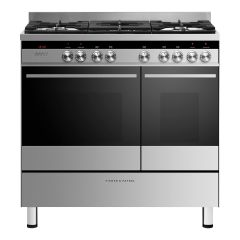 Fisher + Paykel OR90L7DBGFX1 90Cm Dual Fuel Range Cooker