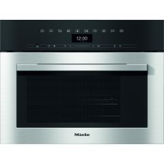 Miele DGM7340 Steam Oven and Microwave, SensorTronic 40 litre capacity, DualSteam technology 80-1000