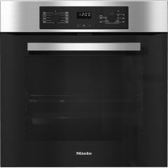 Miele Company Ltd H2267BP CLST Built In Single Oven - Contourline 7 Functions, Easycontrols, 76 Litr