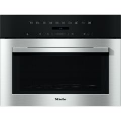 Miele M7140TCCLST DirectSensor S at top, 46 litre capacity, 80-900W Microwave, Automatic Programmes,
