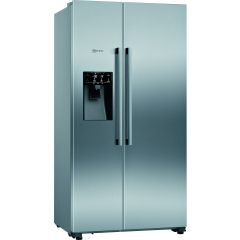 Neff KA3923IE0G 179x91 SBS, plumbed for ice and water, NoFrost, MultiAirflow, FreshSafe food