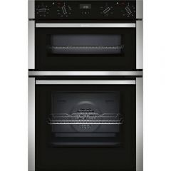 Neff U1ACE2HN0B Circotherm Main Oven, 5 Functions, 1 Cliprail, LCD Display. 2Nd Oven 4 Functions